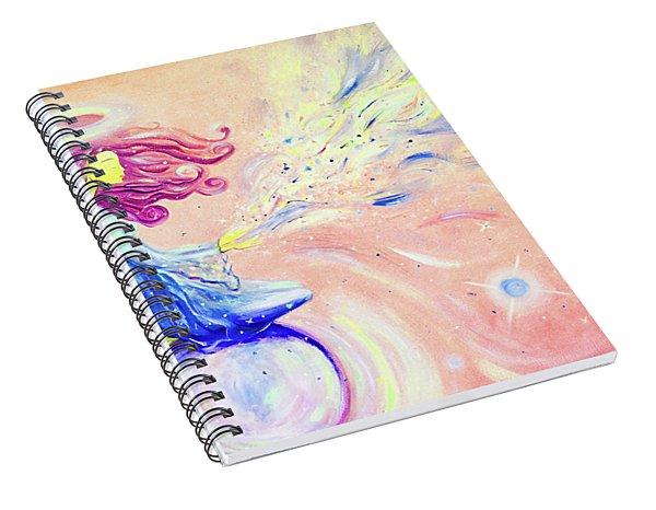 the Goddess of Love Spiral Notebook