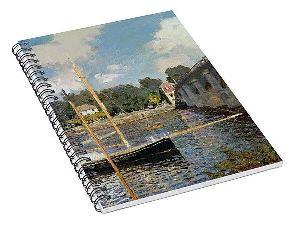 The Seine At Argenteuil Spiral Notebook