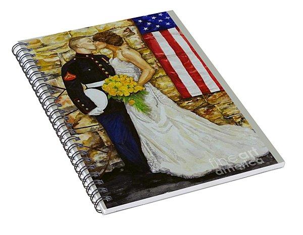 The Wedding Spiral Notebook