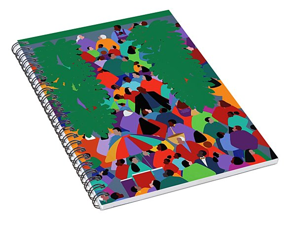 We The People Two Spiral Notebook