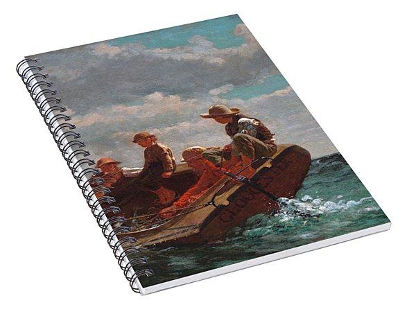 Breezing Up Spiral Notebook