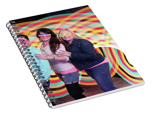 80's Dance Party At Sterling Events Center Spiral Notebook