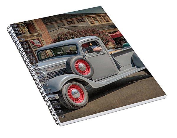 1936 Gmc T-14 Pickup  Spiral Notebook