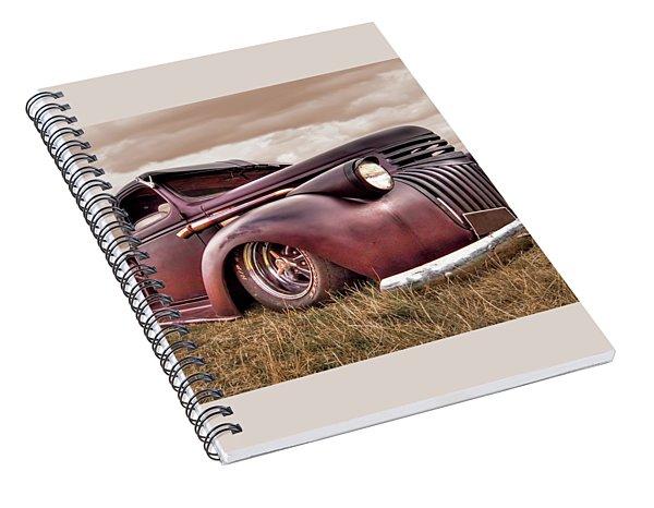 1941 Rusty Chevrolet Spiral Notebook