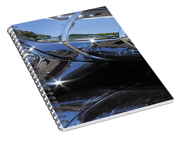 1956 Pontiac Chieftain Grill Abstract Spiral Notebook