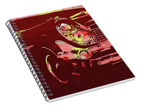 1959 Lincoln Continental Red Pop Spiral Notebook