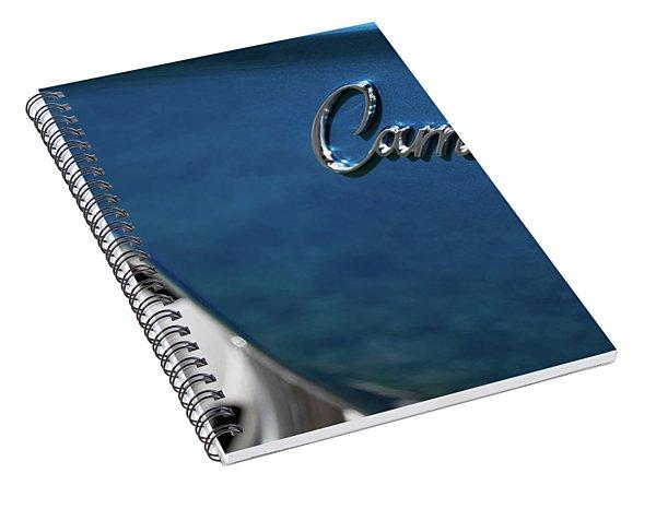 1969 Chevrolet Camaro Z28 Emblem Spiral Notebook