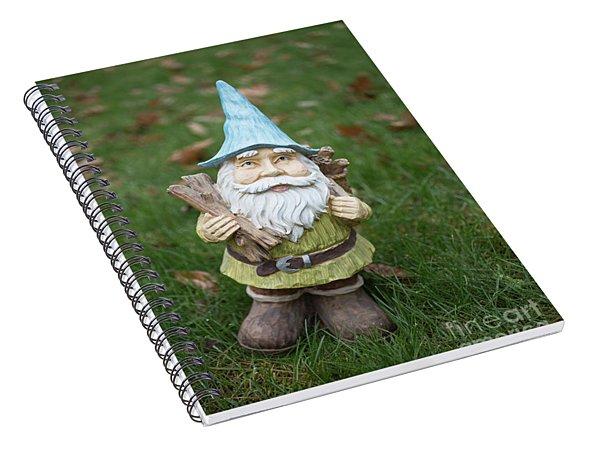 Garden Gnome Spiral Notebook