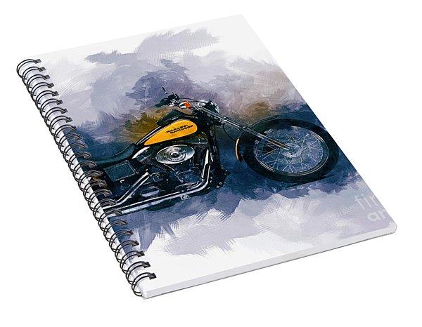 Harley Davidson Spiral Notebook
