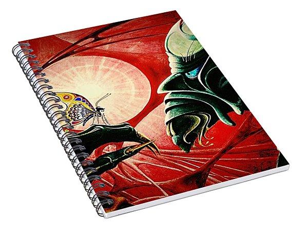 Lucifer  Spiral Notebook