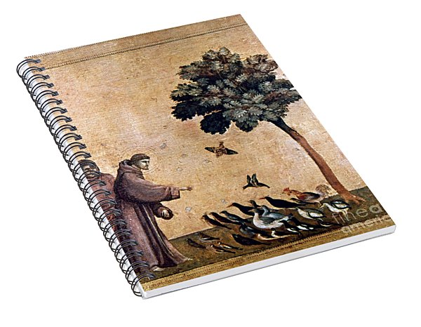 St. Francis Of Assisi Spiral Notebook