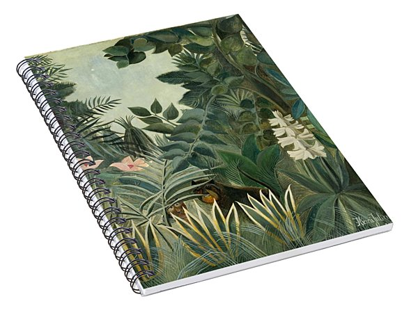 The Equatorial Jungle Spiral Notebook