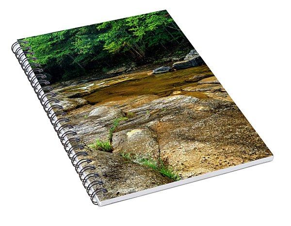 Williams River Summer Rain Spiral Notebook