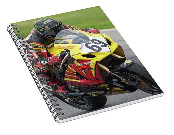 2005 Suzuki Big Kahuna Nationals - Danny Eslick Spiral Notebook