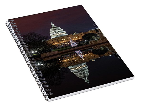 2017 Capitol Christmas Spiral Notebook