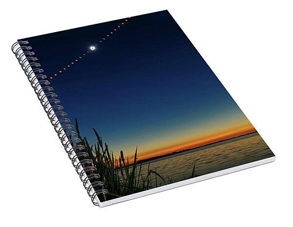 2017 Great American Eclipse Spiral Notebook