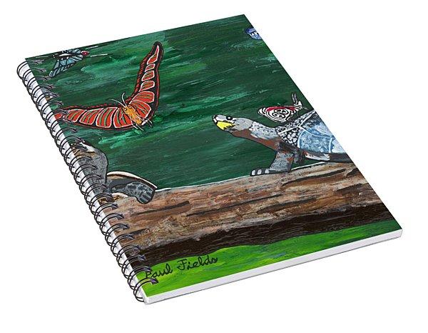 2018-february Spiral Notebook