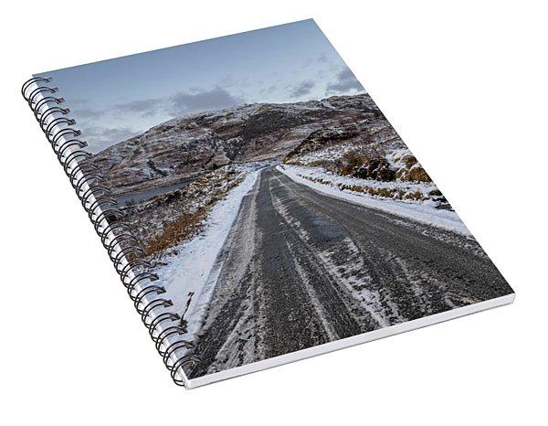 Trossachs Scenery In Scotland Spiral Notebook