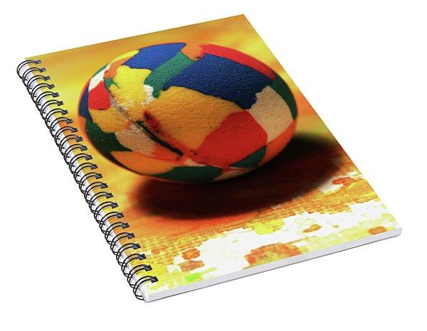 25 Cent Ball Spiral Notebook