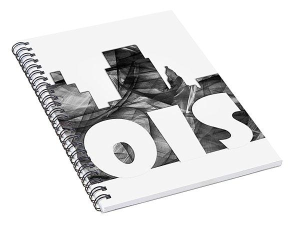 Boise Idaho Skyline Spiral Notebook