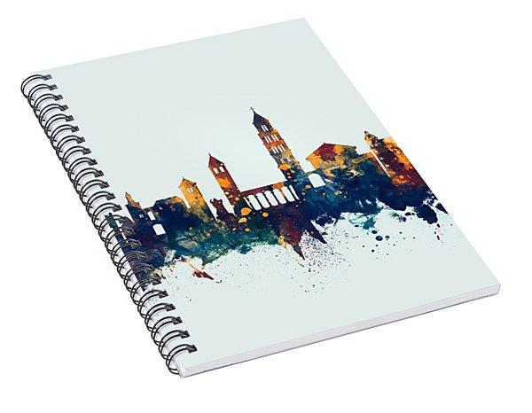 Split Croatia Skyline Spiral Notebook