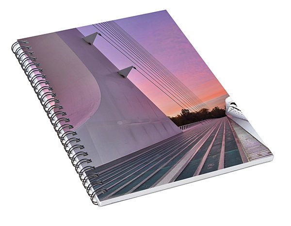 Sundial Bridge Spiral Notebook