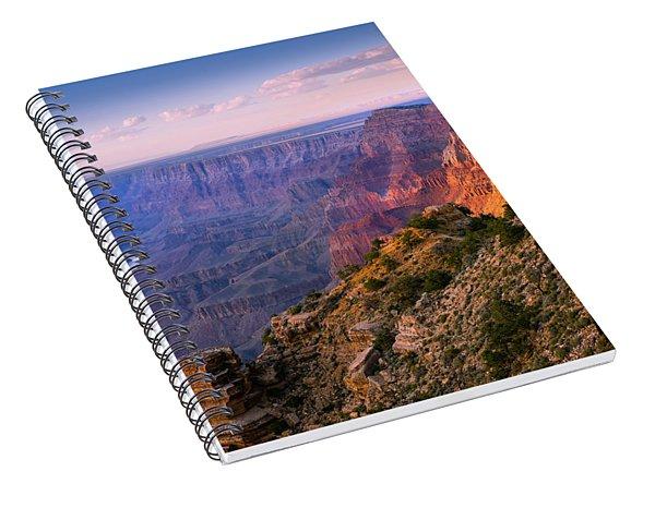 Canyon Glow Spiral Notebook