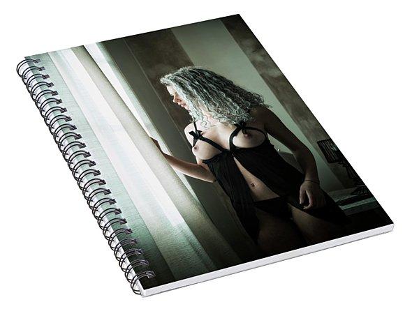 Tu M'as Promis Spiral Notebook