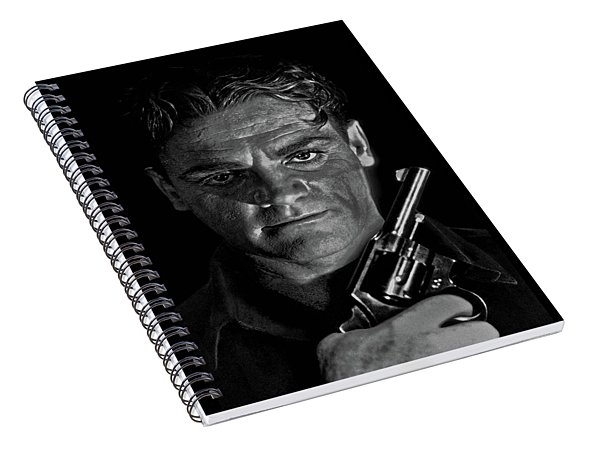 James Cagney Spiral Notebook