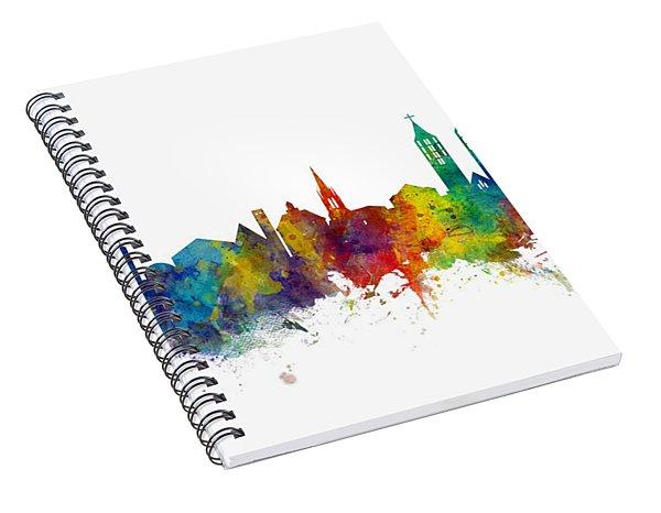 Kassel Germany Skyline Spiral Notebook