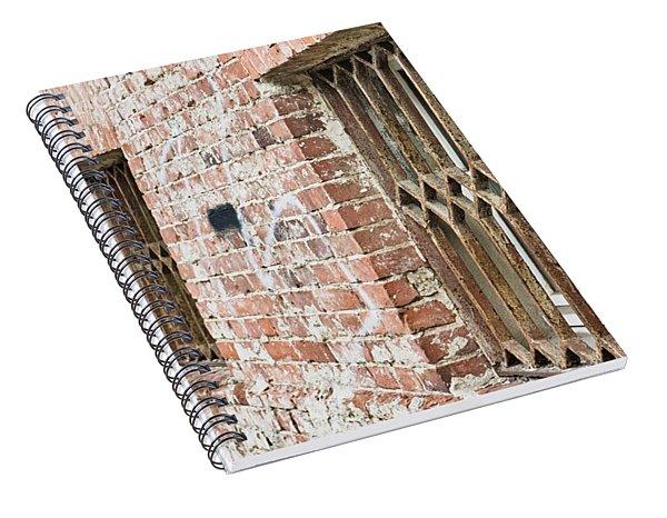 Window Bars Spiral Notebook