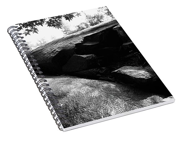40 Acre Rock 14 B W 1 Spiral Notebook