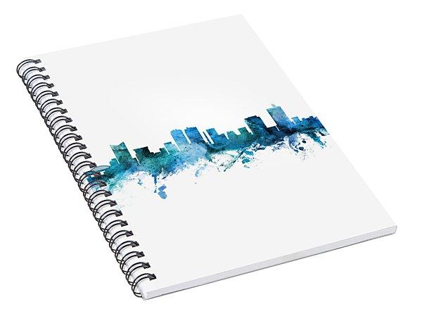 Fort Worth Texas Skyline Spiral Notebook