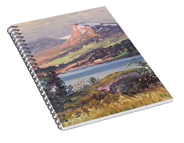 Carl Brandt   1871 1930    Landscape Spiral Notebook