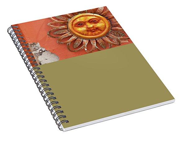 Textures Of Arizona Spiral Notebook