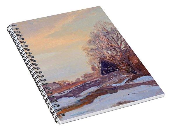 6108756_ Carl Brandt   1871 1930    Landscape Spiral Notebook