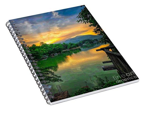 Lake Lure Spiral Notebook
