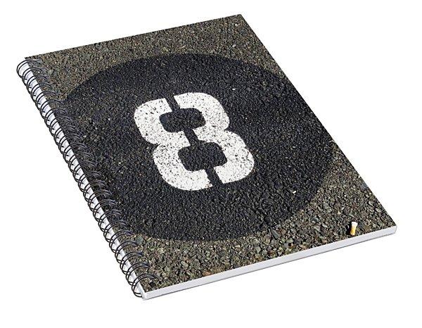8 Spiral Notebook