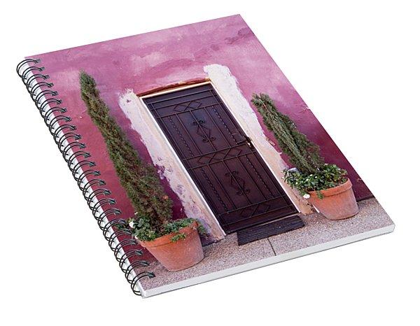 A Bit Of Brightness Down The Lane Spiral Notebook
