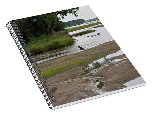 A Braided River Spiral Notebook