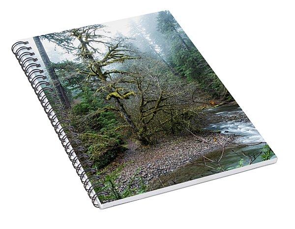 A Creek Runs Through It Spiral Notebook
