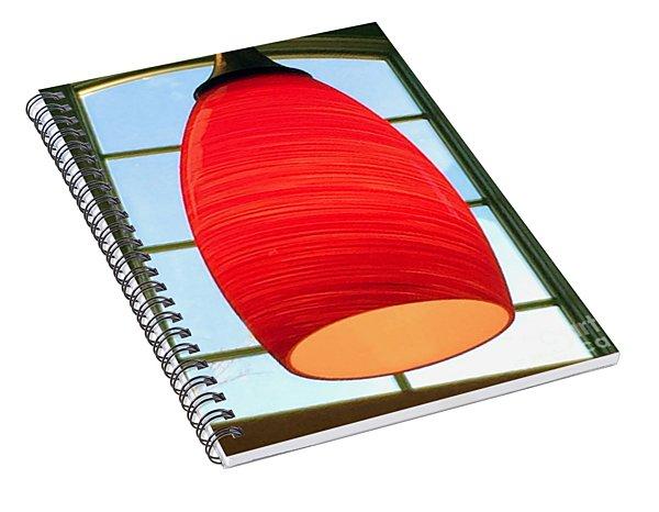 A Light On In Trhe Window Spiral Notebook