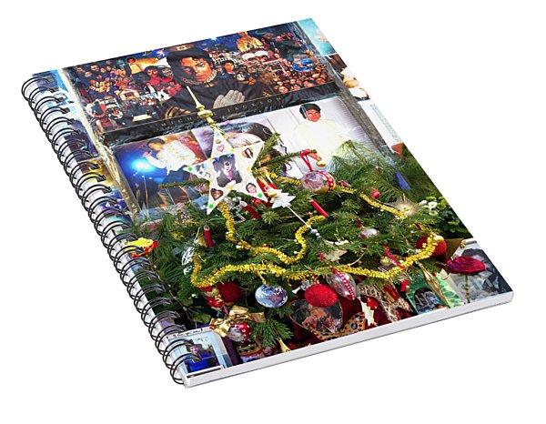 A Merry Michael Jackson Christmas Munich Spiral Notebook
