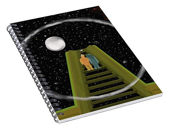 A Place We Go Spiral Notebook