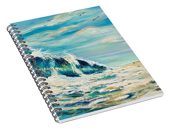 A Sandpiper's View Spiral Notebook