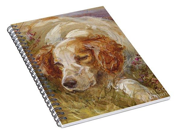 A Spaniel Spiral Notebook