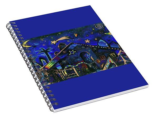 a star in Bethlehem Spiral Notebook