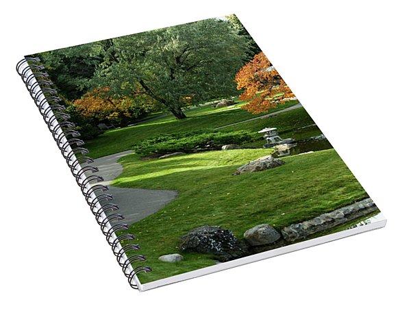 A Walk In The Garden Spiral Notebook