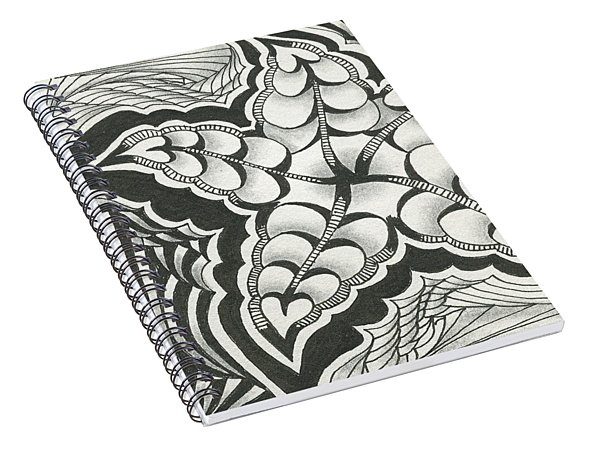 A Woman's Heart Spiral Notebook