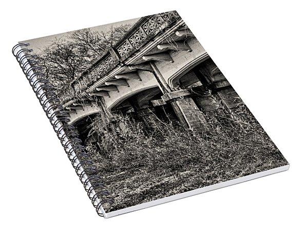 Abandoned Bridge Spiral Notebook